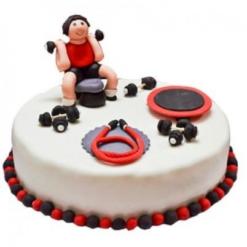 gym lover cake