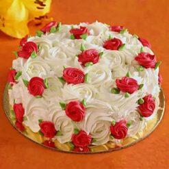 Designer Roses Cake