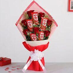 Kitkat Roses Bouquet