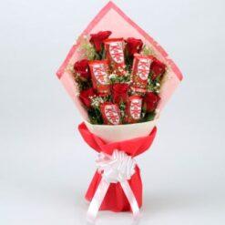 Kitkat Roses Bouquet1