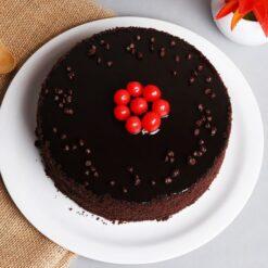 Soft Choco Truffle Cake