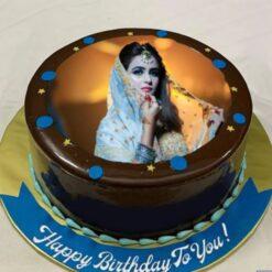 Silky Choco Photo Cake